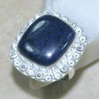 טבעת משובצת סודלייט כסף 925 מידה: 8.5