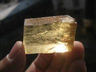 קלציט זהב גלם משקל: 32 גרם