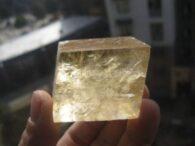 קלציט זהב גלם משקל: 83 גרם