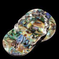 תליון אבאלון בעיצוב כפכף מיוחדתליון אבאלון בעיצוב כפכף מיוחד