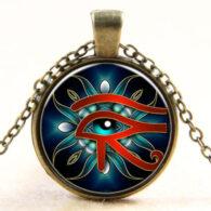העין של רע (הורוס) - הגנה מעין רעה תליון ושרשרת