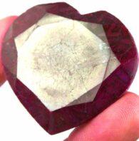 אבן חן: רובי מלוטש לשיבוץ 160 קרט