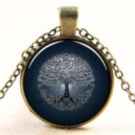 עץ החיים - קבלה: תליון ושרשרת ברונזה