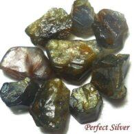 אבן חן: ספיר גלם לליטוש 9 יחידות 12.75 קרט