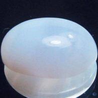אבן חן: כלצידוני תכלת מלוטש לשיבוץ 5.72 קרט ליטוש קבושון