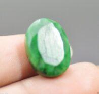 אבן חן: אמרלד מלוטש לשיבוץ (ברזיל) תעודה 12.85 קרט