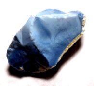 """אופל כחול גלם לליטוש (אוסטרליה) 136.95 קרט מידות: 25.08*27.13*46.82 מ""""מ"""