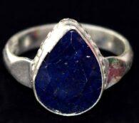 טבעת ספיר איכותי 7.02 קרט - תעודה