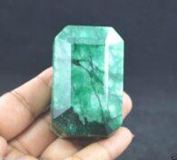 אבן חן: אמרלד מלוטש גדול (ברזיל) 741.80 קרט
