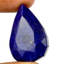 אבן חן: ספיר מלוטש לשיבוץ (אפריקה) 65 קרט