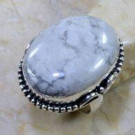 טבעת בשיבוץ היולייט כסף 925 מידה: 7.75