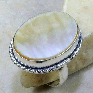 טבעת בשיבוץ אם הפנינה כסף 925 מידה: 8.5