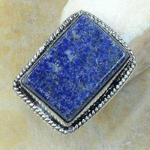 טבעת משובצת לאפיס כסף 925 מידה:8.5