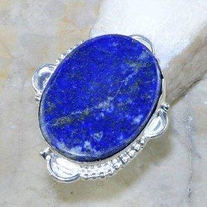טבעת משובצת לאפיס לג'ולי כסף 925 מידה: 7.5