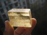קלציט זהב מלבן משקל: 36 גרם