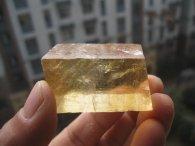 קלציט זהב גלם משקל: 44 גרם