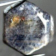 אבן חן: ספיר גלם לליטוש אפריקה גווני כחול 10.06 קרט
