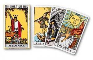 קלפים: קלפי טארוט ריידר בעברית