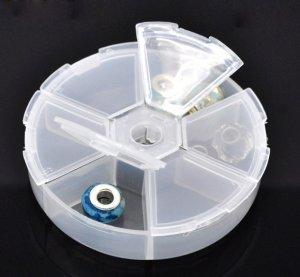 תכשיטנות: קופסת פלסטיק לאכסון חרוזים