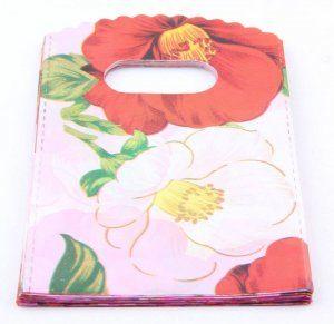 תכשיטנות: 50 שקיות אריזה ידית איורי פרחים