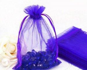 תכשיטנות: 10 שקיקי אורגנזה כחול