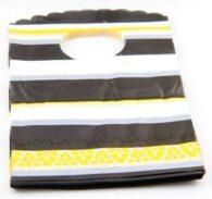 תכשיטנות: 50 אריזות עם ידית צהוב שחור