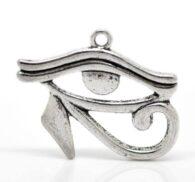 העין של רע (הורוס) הגנה מעין רעה: תליון מוכסף