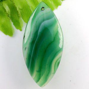 תליון אגט אוניקס גווני ירוק