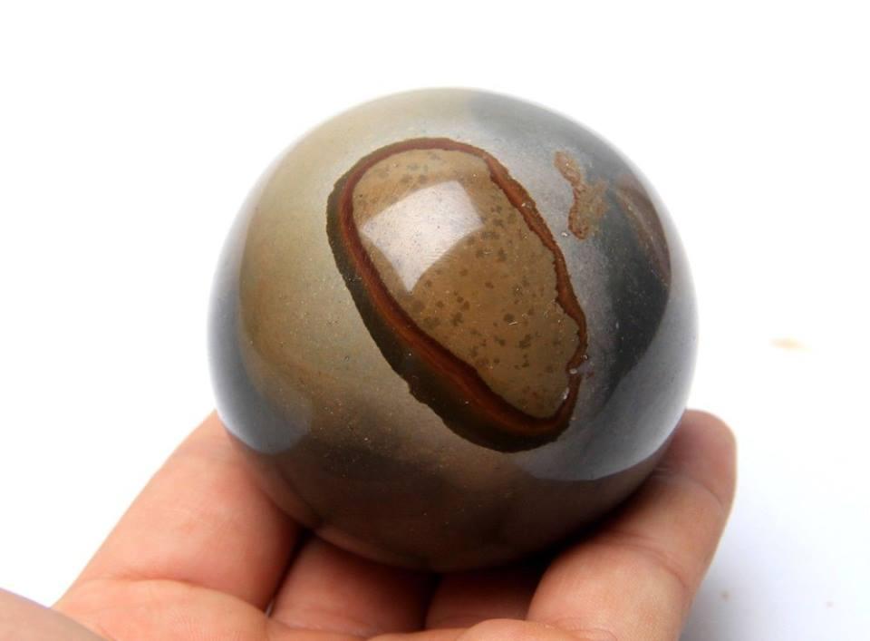 """ג'ספר אוושן כדור ומעמד קוטר: 65 מ""""מ משקל: 386 גרם"""