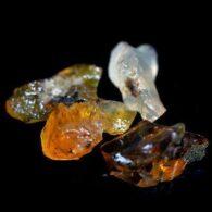 אבן חן: 4 יחידות אופל גלם לליטוש אתיופיה 6.32 קרט