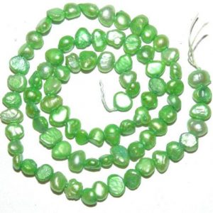 תכשיטנות: שרשרת פנינים גוון ירוק