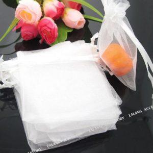 תכשיטנות: 10 שקיקי אורגנזה לבן