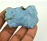 אבן חן: אופל כחול טבעי גלם לליטוש (אוסטרליה) 245 קרט