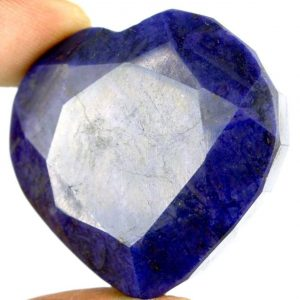 אבן חן: ספיר כחול מלוטש לשיבוץ (אפריקה) 177 קרט