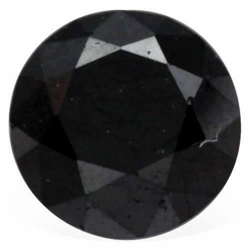 אבן חן: יהלום שחור מלוטש 0.76 קרט