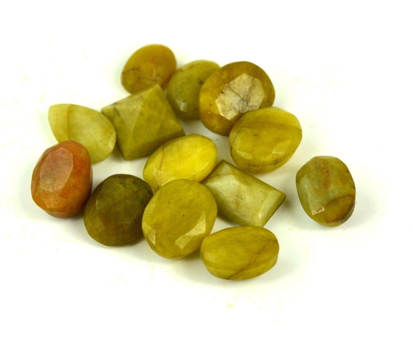 אבן חן: 1 יחידה ספיר צהוב מלוטש לשיבוץ (ברזיל)