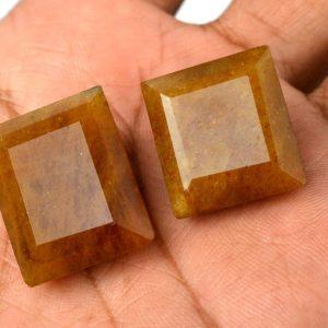 אבן חן: ספיר גולדן מלוטש (מדגסקר) 47 קרט