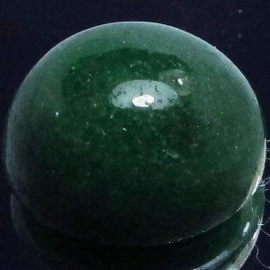אבן חן: רובי זוסילייט ירוק מלוטש לשיבוץ 8.50 קרט