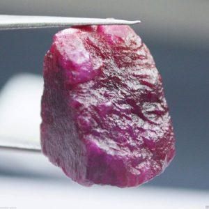 אבן חן: בריל גלם ורוד לליטוש (מדגסקר) 48.65 קרט