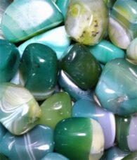 אגט ירוק - חלוק