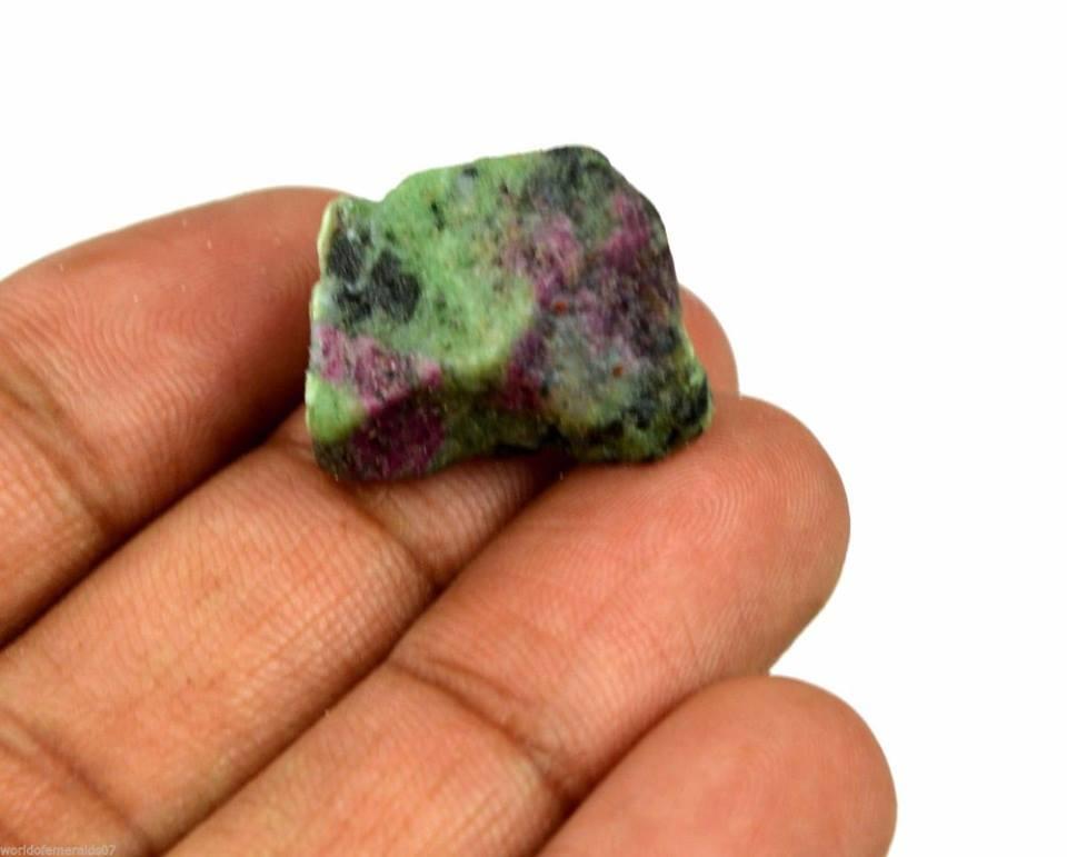 אבן חן: רובי זוסילייט גלם לליטוש (אפריקה) 37 קרט