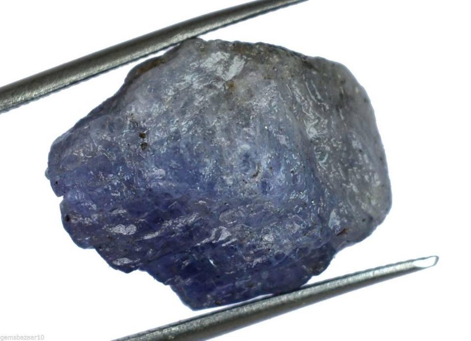 אבן חן: טנזנייט גלם לליטוש 30.15 קרט