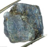 """אבן חן: טנזנייט גלם לליטוש (טנזניה) תעודה 27.20 קרט מידות: 10*17*19 מ""""מ"""