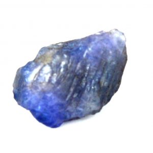 """אבן חן: טנזנייט גלם לליטוש (טנזניה) 11.10 קרט מידות: 08*12*16 מ""""מ"""