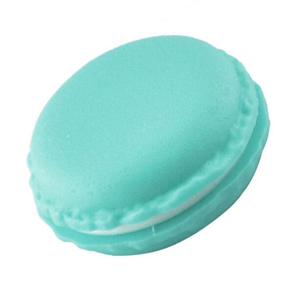 תכשיטנות: קופסת אריזה לטבעת עיצוב עוגיית מקרון ירוק