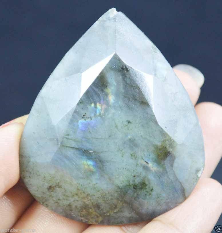 אבן חן: לברדורייט מלוטש גדול (אפריקה) 311 קרט