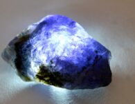 אבן חן: איולייט גלם לליטוש (נמיביה) 55 קרט