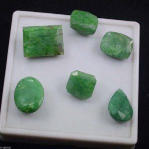 אבן חן: אמרלד מלוטש לשיבוץ (ברזיל) 6 יחידות 76.15 קרט
