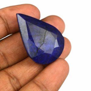 אבן חן: ספיר כחול מלוטש לשיבוץ 67 קרט