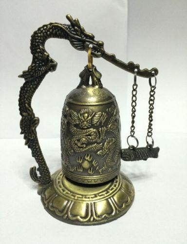 פעמון טיבטי עיצוב דרקון